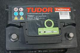 Без обмена Tudor 62Ah с глазком + Philips H4 - Фото #3