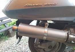 Honda Silver Wing глушитель прямоточный - Фото #2