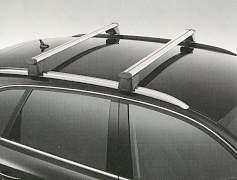 Поперечные релинги Audi Q5 (8R0071151S) 2009-2012 - Фото #1
