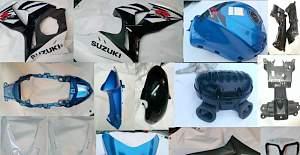 Запчасти и пластик Suzuki GSX R 1000 09-15г ориг - Фото #4