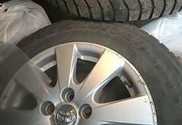 Зимние шины Bridgestone с дисками, (4 - Фото #1