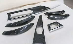 Накладки, планки салона карбон BMW - Фото #2