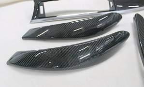 Накладки, планки салона карбон BMW - Фото #4