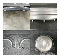 Накладка переднего бампера Рендж Ровер Вог 3 - Фото #1