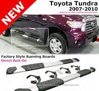 Пороги оригинальные для toyota tundra 2007-2013 - Фото #1