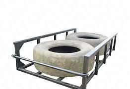 Кронштейн запаски корзина под запаску паллетник - Фото #1