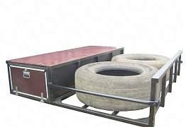 Кронштейн запаски корзина под запаску паллетник - Фото #3