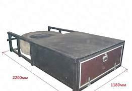 Кронштейн запаски корзина под запаску паллетник - Фото #4