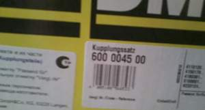 К-т сцепления luk 600004500 mondeo III 2.0TDI - Фото #1