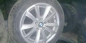 Диски BMW в сборе с шинами зима Нокиан 7 - Фото #1