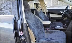 Накидки меховые из овчины на сиденье машины - Фото #5