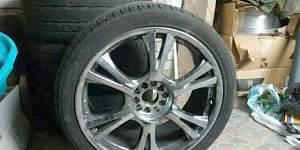Комплект колес с резиной 22 r 285/35 yokohama - Фото #1