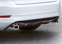 Спойлер заднего бампера Ford Mondeo спорт 1726319 - Фото #1