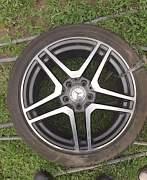 Колеса на mersedes-benz R18 - Фото #1