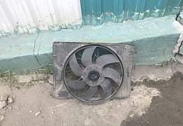 Диффузор вентилятор с204 w204 мл163 w163 - Фото #1