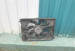 Диффузор вентилятор с204 w204 мл163 w163 - Фото #2