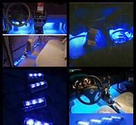 Новая подсветка пола авто - Фото #1