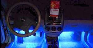 Новая подсветка пола авто - Фото #5