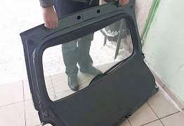 Крышка багажника б/у на Мазду Mazda сх-7 CX7 - Фото #4