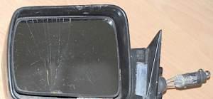Джип Чероки 89 зеркало левое, ручное управление - Фото #1