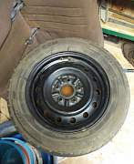 полноразмерное запасное колесо 185/65 R15 - Фото #1