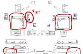 BMW E-30 детали передней подвески - Фото #1