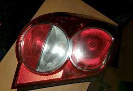 Задний левый фонарь шевроле авео Т300 седан - Фото #1