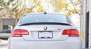 Спойлер на крышку багажника BMW E92 E93 performanc - Фото #2