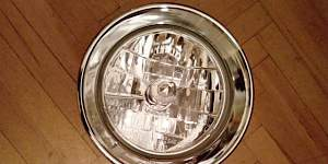 Фара хром на чоппер 205 мм - Фото #1