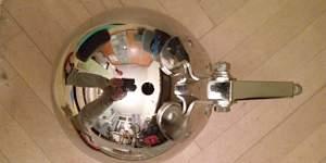 Фара хром на чоппер 205 мм - Фото #3