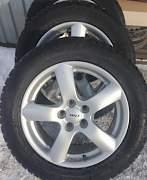 Rial Oslo диски и шины Dunlop - Фото #1