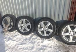 Rial Oslo диски и шины Dunlop - Фото #3