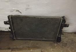 Радиатор Опель Астра Н 1,8 автомат Б/У оригинал - Фото #4