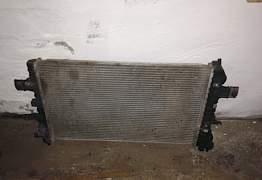 Радиатор Опель Астра Н 1,8 автомат Б/У оригинал - Фото #5