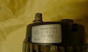 Генератор GM 96567255 на дэу матиз Daewoo Matiz - Фото #5