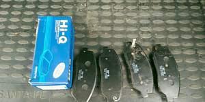 Hi-Q 3 колодки передние на Santa fe 2 - Фото #1