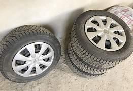 Зимние колеса на Toyota Corolla - Фото #2