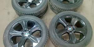 Колеса зимние от BMW X6 - Фото #1
