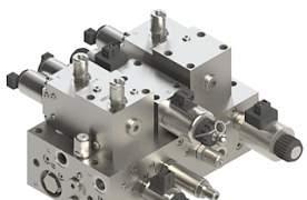 Клапаны для гидроразводки экскаватора Wessel - Фото #1