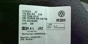 Коврики оригинальные VW touran 2011 г. в - Фото #2