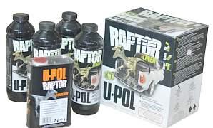 U-POL raptor защитное покрытие 4л - Фото #1