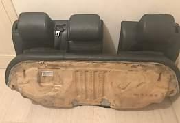Задний диван на VW Passat B6 и CC - Фото #3