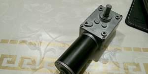Мотор редуктор 12в до 70кг, 10-12 об/мин - Фото #1