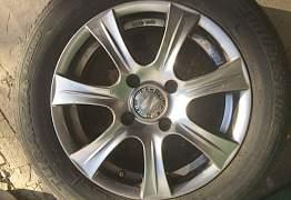 Колеса в сборе. Литые диски, шины. Шевроле Rezzo - Фото #4