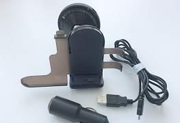 Авто держатель телефона с зарядным устройством - Фото #1