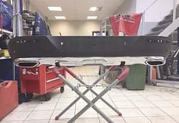 Диффузор заднего бампера Mercedes GLE Coupe - Фото #2