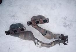Выпускные коллетора(катализаторы) бмв Е46 m54 - Фото #1