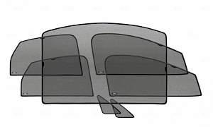 Шторки солнцезащитные для Mitsubishi ASX - Фото #1