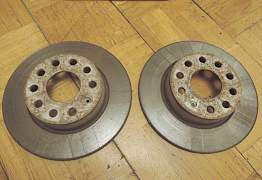 Тормозной диск задний skoda octavia - Фото #2