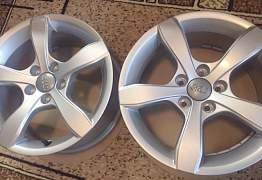 Литые диски R15 Audi A1 - Фото #2